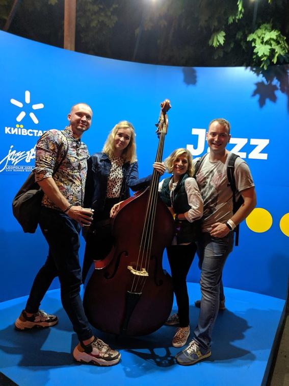 покатушки журналистов на джазовый фестиваль во Львов